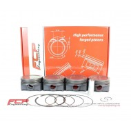 Opel 1.6 16V Turbo Z16LET FCP forged pistons 80mm CR 8.7