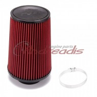 Universal air filter 240mm / 76mm connection