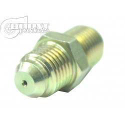 BOOST products Oil Adapter with Restrictor for Garrett GT-R
