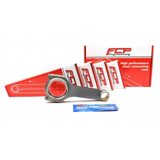 AUDI / VW 1.4 TSI EA211 FCP H-BEAM STEEL CONNECTING RODS 144MM WITH 19MM PIN