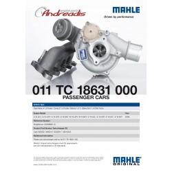 K03-110 OPEL OPC 1.6t MAHLE GERMANY