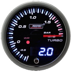 Prosport JDM 52/60mm Boost Gauge