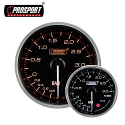 Prosport CLS 52/60mm Boost Gauge