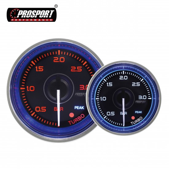 Prosport Supreme N series 52mm Boost Gauge