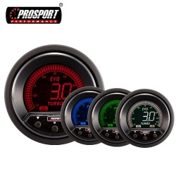 Prosport Evo 52/60mm Boost Gauge